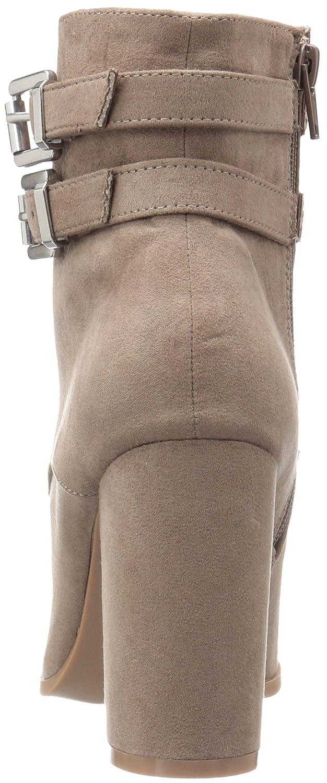 Madden Girl Frauen Klaim Geschlossener Zeh Taupe Fashion Stiefel Taupe Zeh Fabric 3a1c26
