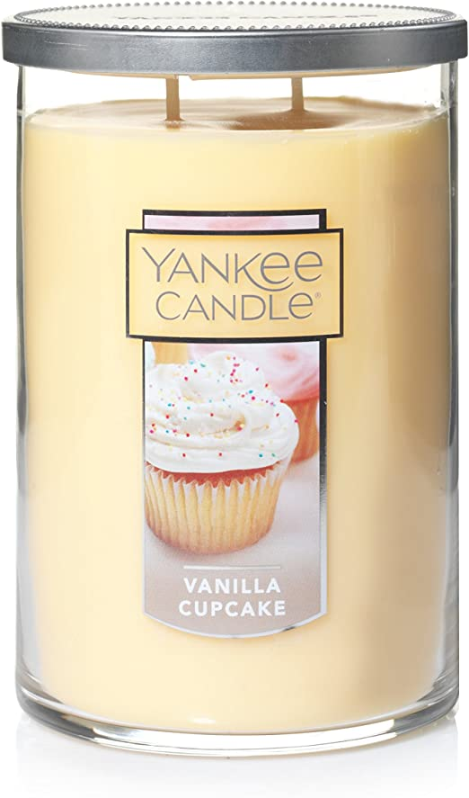 YANKEE CANDLE  VANILLA BOURBON  Tall Tumbler CANDLE 20 Ounce NEW