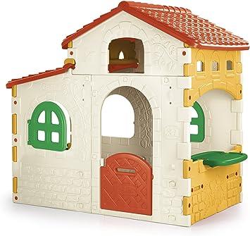 FEBER - Sweet House, Casita infantil para el jardín (Famosa 800010960): Amazon.es: Juguetes y juegos