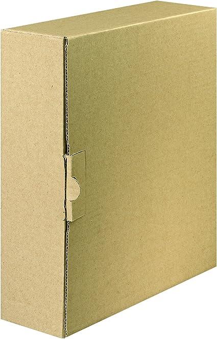 FALKEN Carpeta con cierre – Caja de envío para archivadores y ...