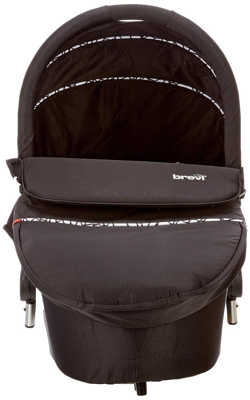 Brevi 769258 Presto schwarz Soft-Babywanne