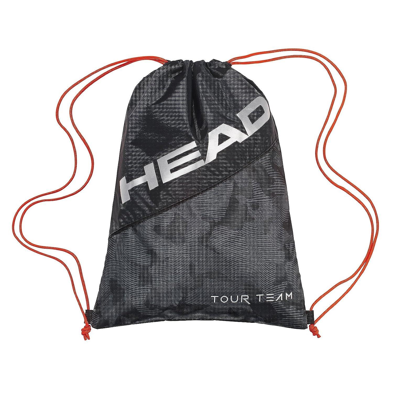 755fba58c7 HEAD Tour Team Sac à Chaussures Sac de Raquette de Tennis N/A Black/Silver:  Amazon.fr: Sports et Loisirs