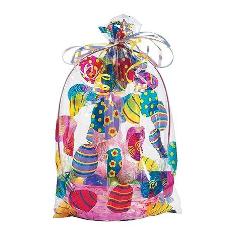 Amazon.com: Bolsas de cesta de Pascua (12unidades) 17 ...