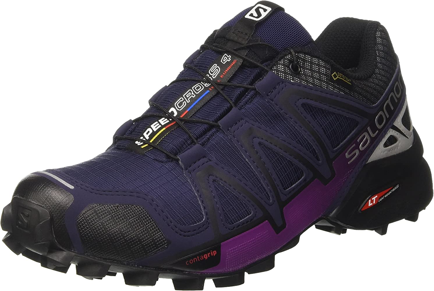 Salomon Men's Speedcross 4 Nocturne GTX Low Rise Hiking
