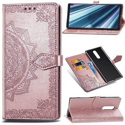 1437601938db Amazon.com: Case for Sony Xperia 1/ Sony Xperia XZ4, mellonlu Luxury ...