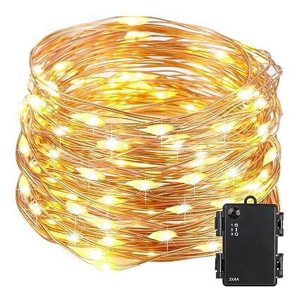 Amazon.com: Kohree String Light LED Fair Copper Wire Light ...