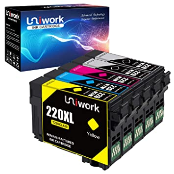 Amazon.com: Uniwork - Cartucho de tinta remanufacturado de ...
