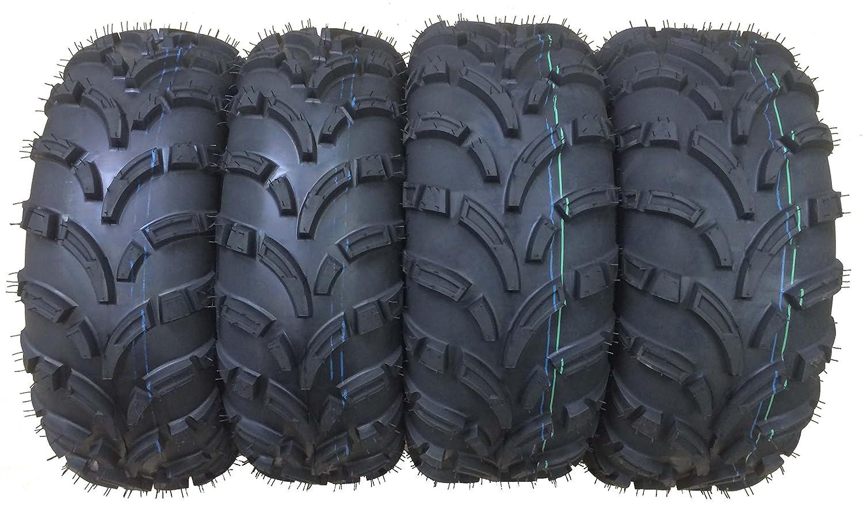Set of 4 New WANDA ATV/UTV Tires 25x10-12 Front & 25x11-12 Rear /6PR P373 ATV25DS4P373
