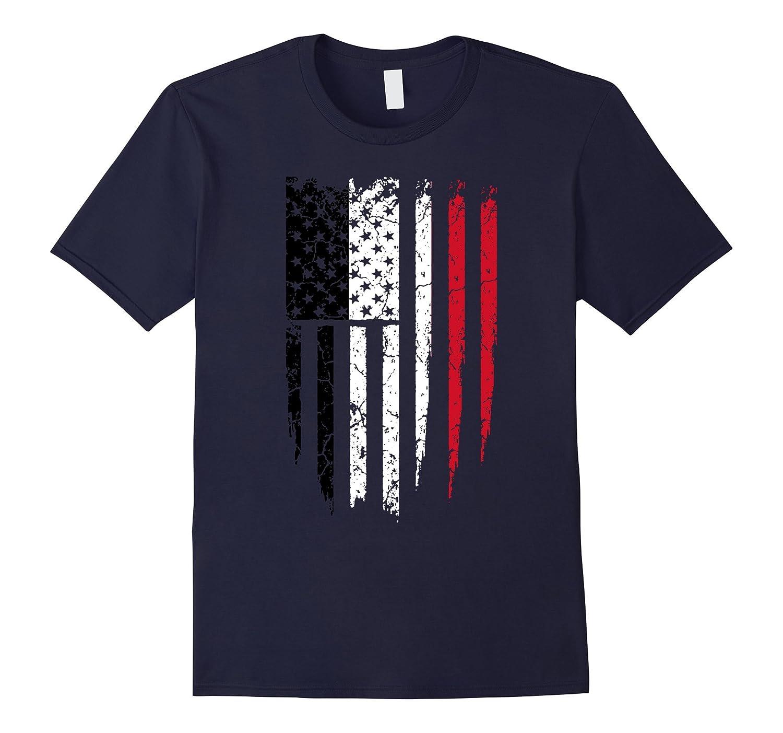 Yemeni American Yemen & America Flag T-Shirt-Art