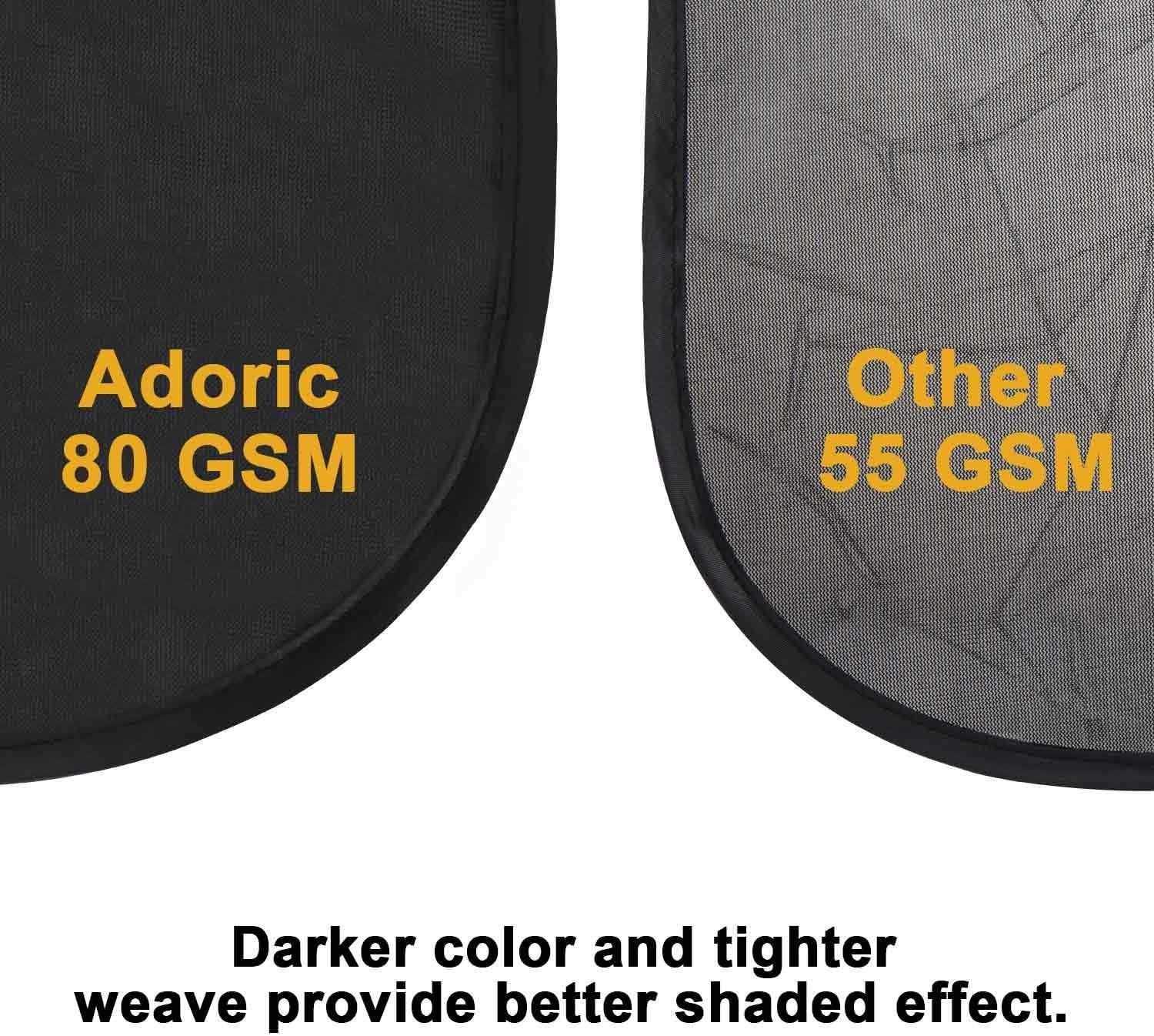 Sun Shade for Car Window,Car Sun Shade for Baby /& KidsCar Sun Protector Block UV Rays Car Window Shade Blinds 30cm and 2 Pack 44*36cm in a Handy Pouch Suitable For Most Vehicles-Black 2 Pack 50