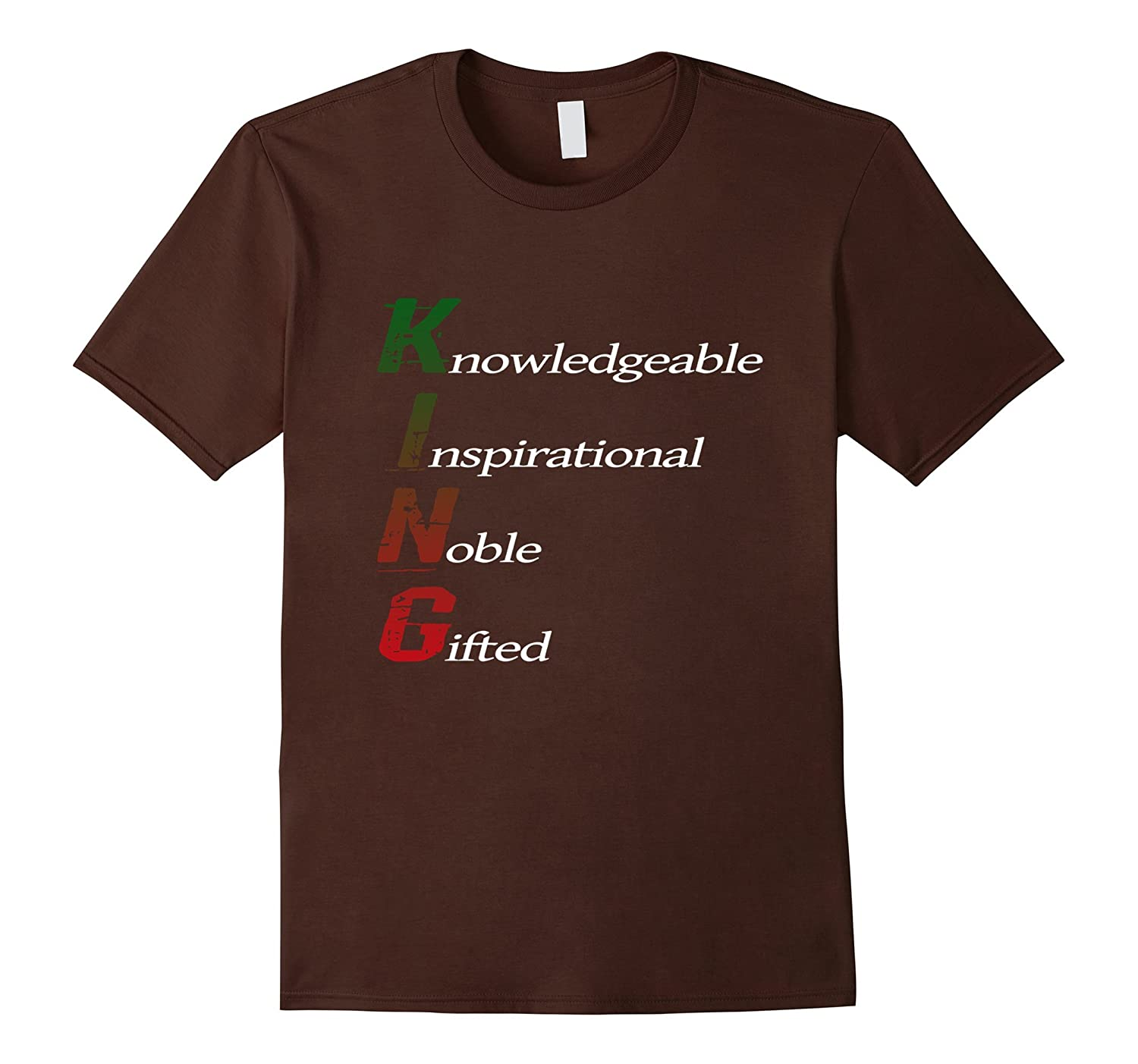 Black Consciousness King Knowledgeable Inspirational TShirt