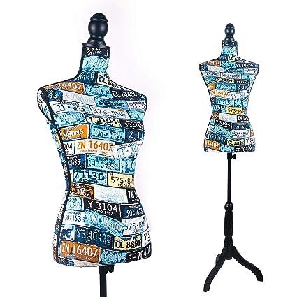 Amazon Com Female Dress Form Mannequin Torso Body With Black