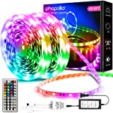 Phopollo Led Lights 65.6ft Long Led Strip Lights for Bedroom Color Changing Luces Led para Decoracion Habitacion RGB DIY Colo