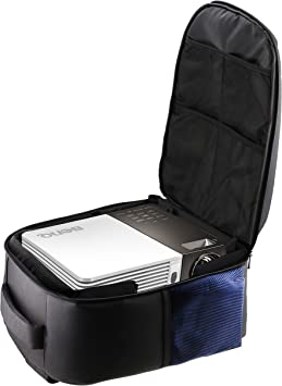 Navitech Rugged Protective Portable Handheld Pocket Projector Carrying Case Compatible with The Kodak Luma 75