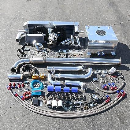 Amazon.com: For Mitsubishi Eclipse/Eagle Talon 2G High Performance 24pcs TD05 16G Turbo Upgrade Installation Kit: Automotive