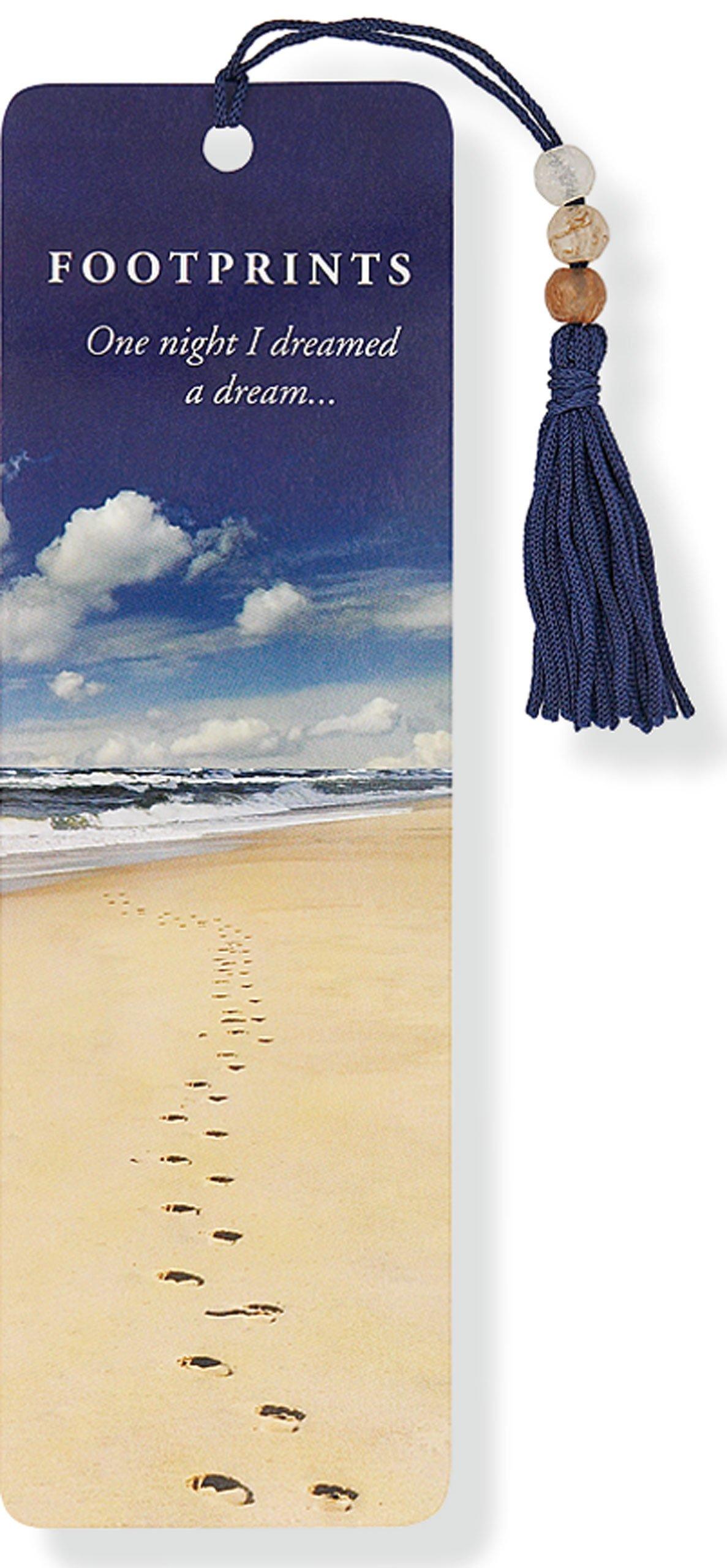 Footprints Beaded Bookmark Misc. Supplies – Jan 1 2009 Peter Pauper Press 1593593244 Nonfiction / Non-Classifiable