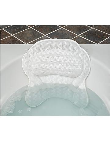 40d5b8852 Luxurious Bath Pillow for Women & Men :: Ergonomic Bathtub Cushion for  Neck, Head