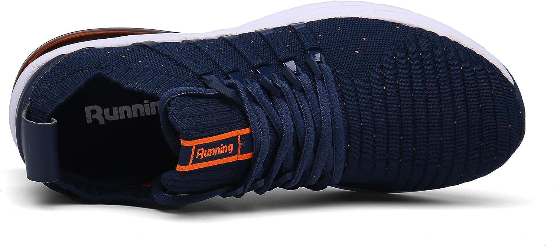 Hombre Mujer Zapatillas Deporte para Zapatillas de Ligeras Running Transpirables C/ómodas Correr para Zapatos de Malla