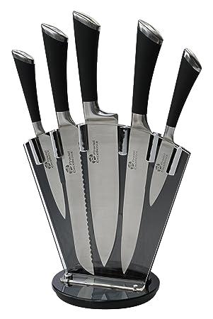 Compra Pradel Bloque de 5 cuchillos de cocina profesional de ...