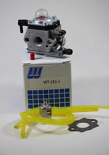 Amazon.com: wt-253 – 1 – Walbro el Carburador para STHIL BG ...