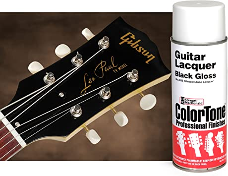 Colortone negro aerosol para guitarra: Amazon.es: Bricolaje y ...