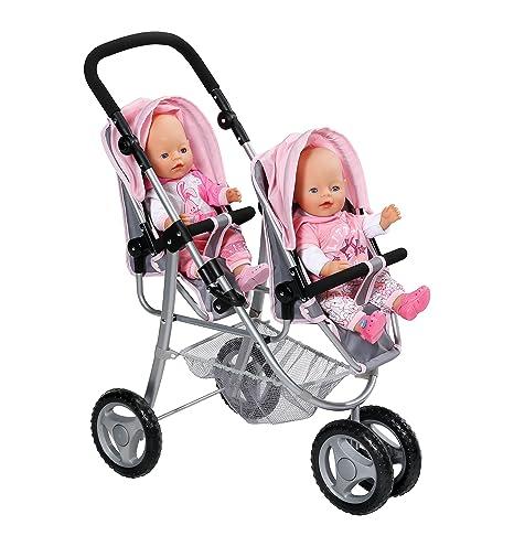 Zapf Baby Born - Cochecito de Paseo para Gemelos Creation 820940
