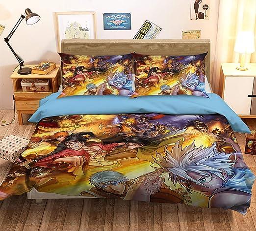3D Colorful Ink Quilt Cover Set Bedding Duvet Cover Single//Queen//King 3pcs