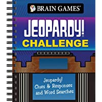 Brain Games - Jeopardy! Challenge: Jeopardy! Clues & Responses and Word Searches