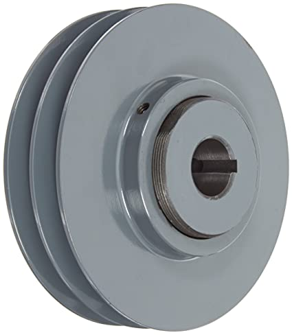 2 Groove 4.75 OD 3//4 Bore 4.75 OD 3//4 Bore Gates 2VP50 Light Duty Variable Pitch Sheaves