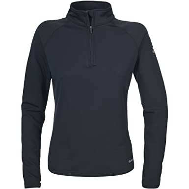 Trespass - Sudadera Fina/Camiseta térmica de Cuello Alto con Media Cremallera y Manga Larga