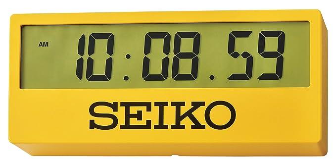 Seiko QHL073Y - Reloj con soporte