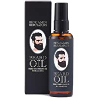Beard Oil and Beard Moisturiser, lightly Scented Beard Conditioner for Optimal Results - Benjamin Bernard - 100 ml