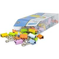Rapesco 1492 19 mm Foldback/Binder Clips, Multi-Colour