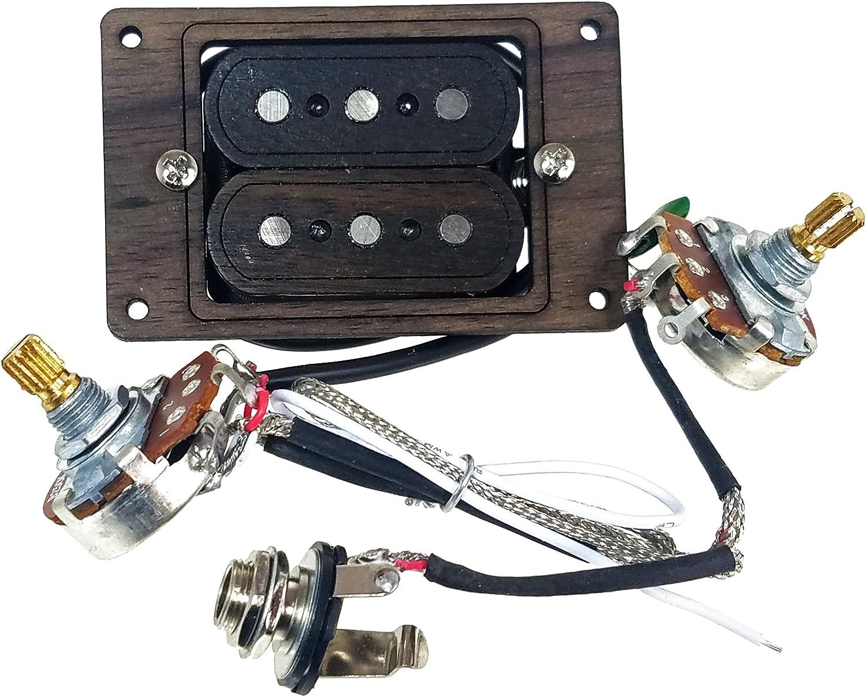 Cigar Box Guitar 4 String Pickup Humbucker