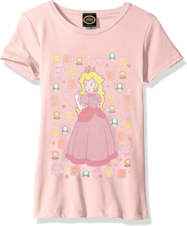 Nintendo Girls' Peachtone Graphic T-shirt
