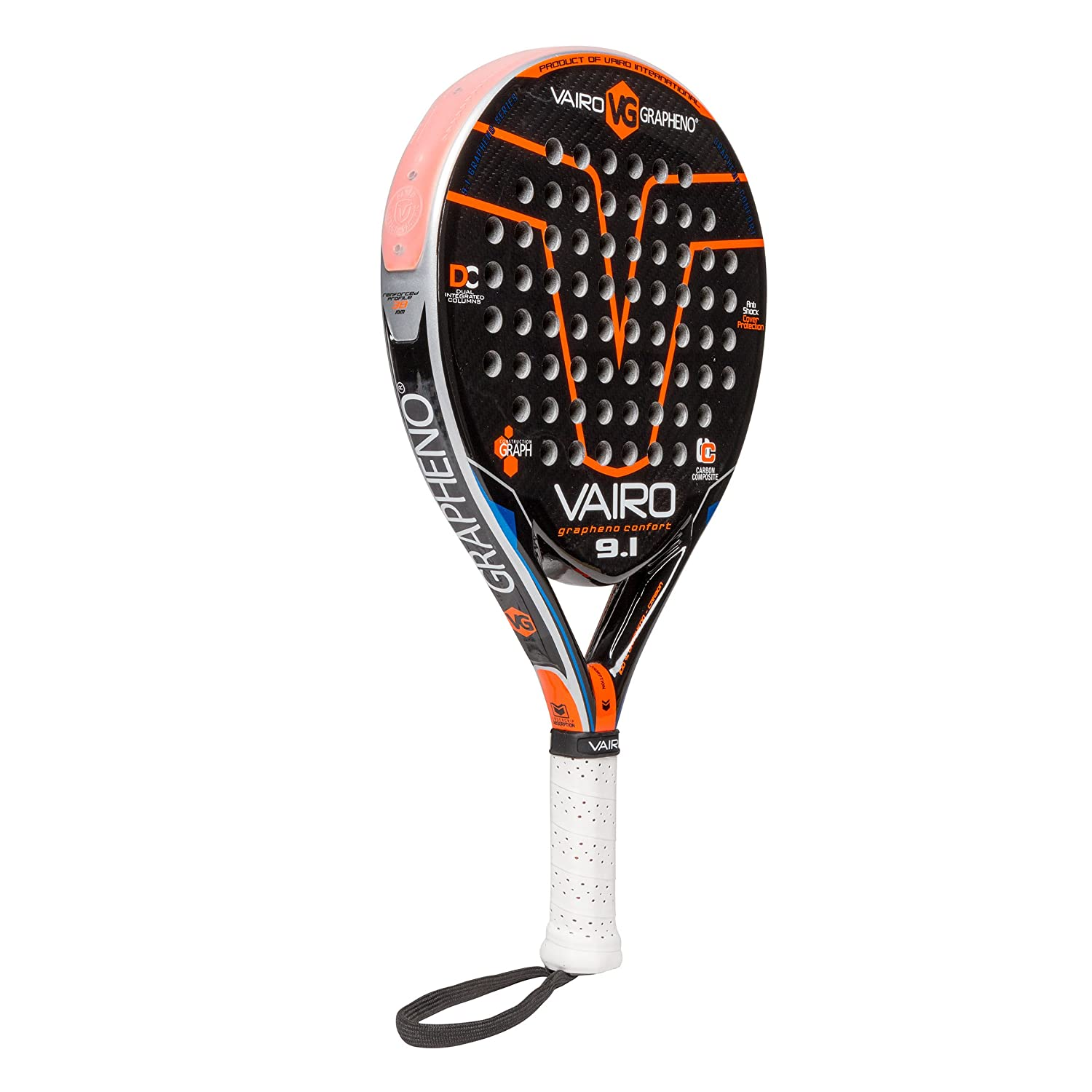 VAIRO Pala de Padel GRAPHENO Confort 9.1: Amazon.es ...