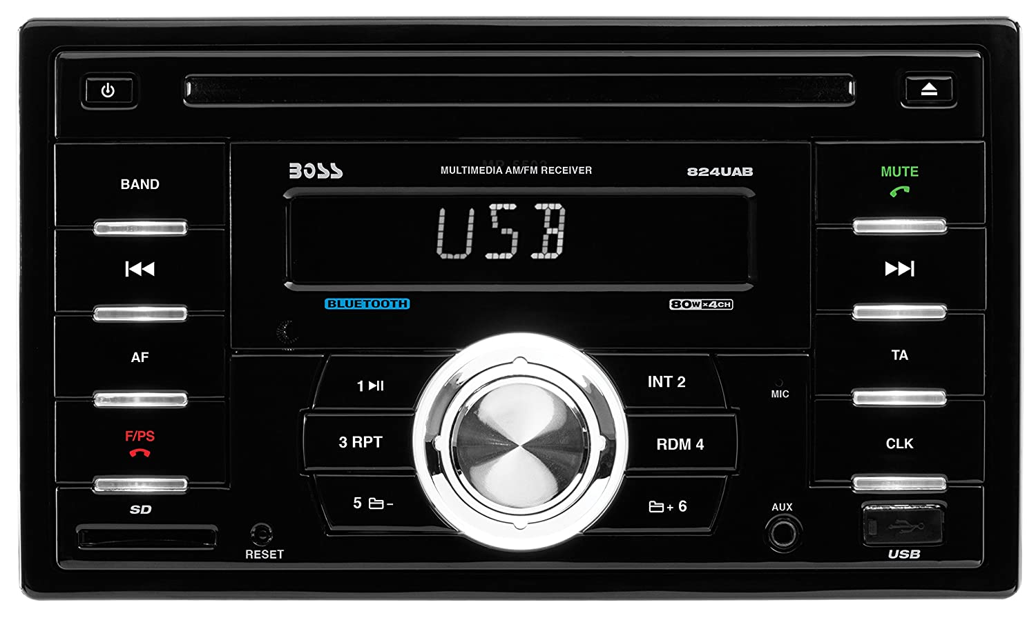 81VxJeUlz2L._SL1500_ amazon com boss audio 824uab double din cd mp3 player receiver  at crackthecode.co