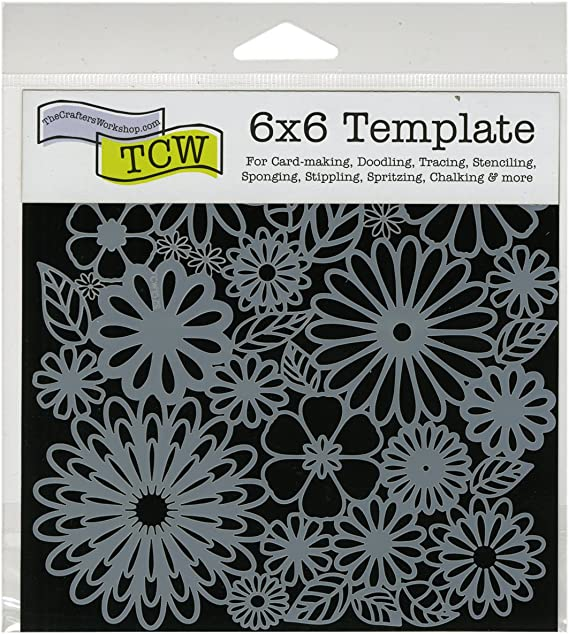 CrafterS Workshop Template 6X6-Cut Outs