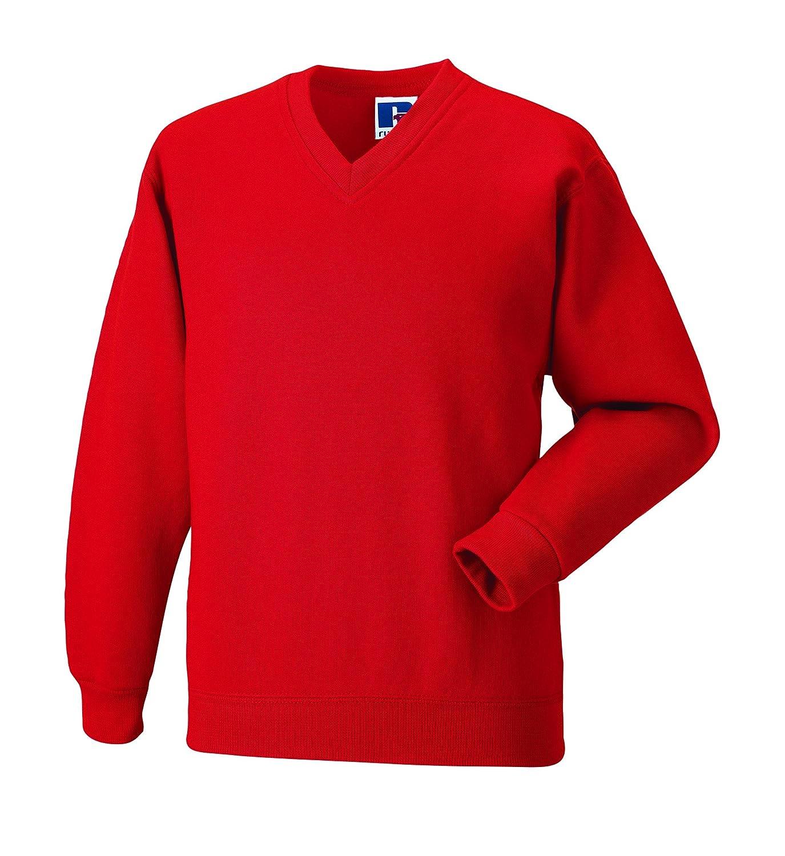 Russell WorkwearHerren Schlichte AusführungSweatshirt Blau French Navy Xx-large