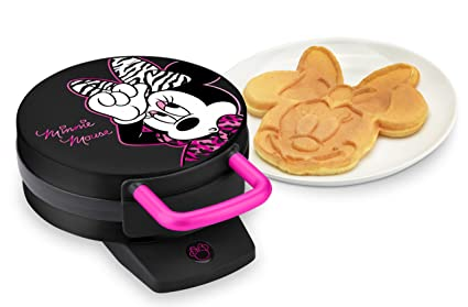 Amazoncom Disney Minnie Mouse Waffle Maker Kitchen Dining