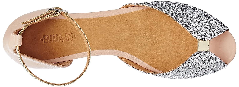 Emma Go Women's Juliette Heel Strap Multi-Coloured Size: 4 UK:  Amazon.co.uk: Shoes & Bags