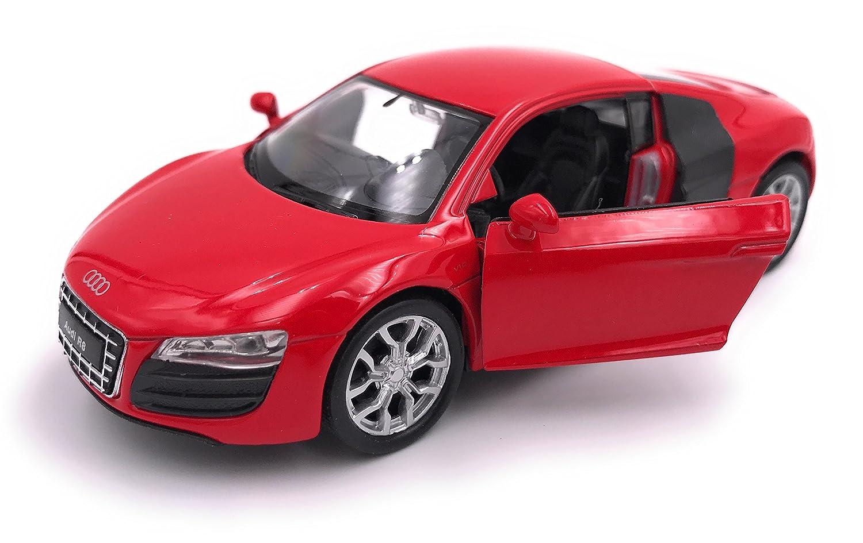 Welly Audi R8 Voiture de Sport mod/èle de Voiture Auto Licence Produit 1 34-1 39 Rouge