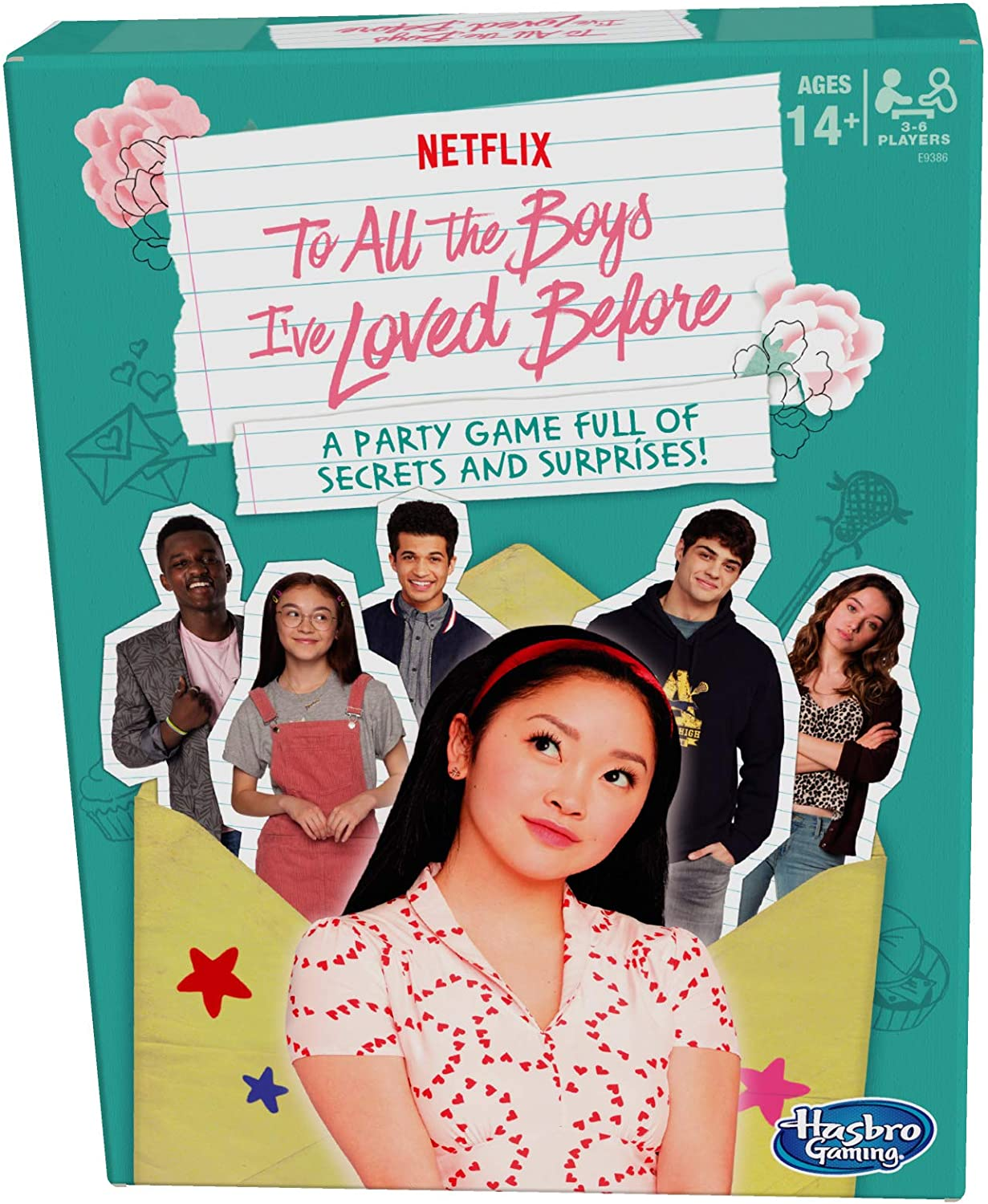 Amazon Com Hasbro Gaming To All The Boys I Ve Loved Before Board Game Inspired By The Netflix Original Movie Party Game Ages 14 And Up Toys Games