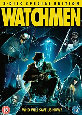 watchmen 2 disc special edition dvd 2009 amazon co uk watchmen 2 disc special edition dvd 2009
