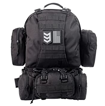Amazon.com : Paratus 3 Day Operator's Pack - Military Style MOLLE ...