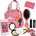 8 Piece Click N' Play Girls Pretend Play Purse Loaded