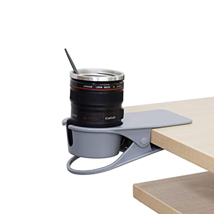 Pleasing Drinking Cup Holder Clip Desk Cup Holder Table Edge Clamp Cup Holder Place Water Glass Coffee Mug Beverage Cell Phone Best Office Accessories Download Free Architecture Designs Rallybritishbridgeorg
