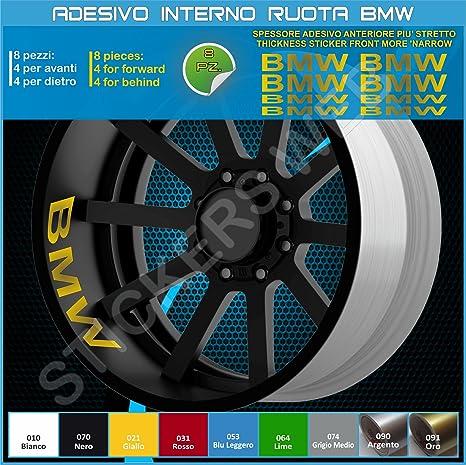 Adhesivo universal BMW para la parte interna de la rueda, llantas, código0290 091 Oro