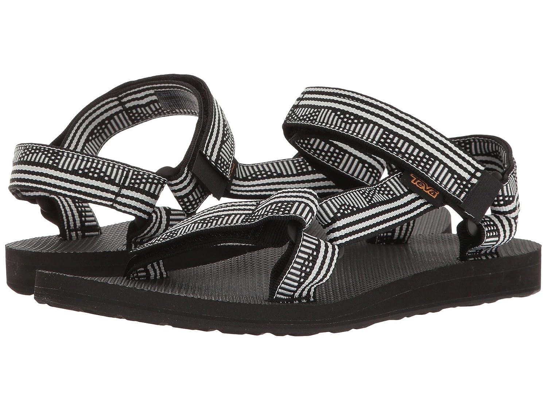 Teva Women's Original Universal Sandal B07CRGB539 42 M EU / 11 B(M) US|Campo Black/White