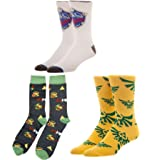 The Legend of Zelda 3 Pack Crew Sock Bundle - Yellow, White and Black 8 Bit Link